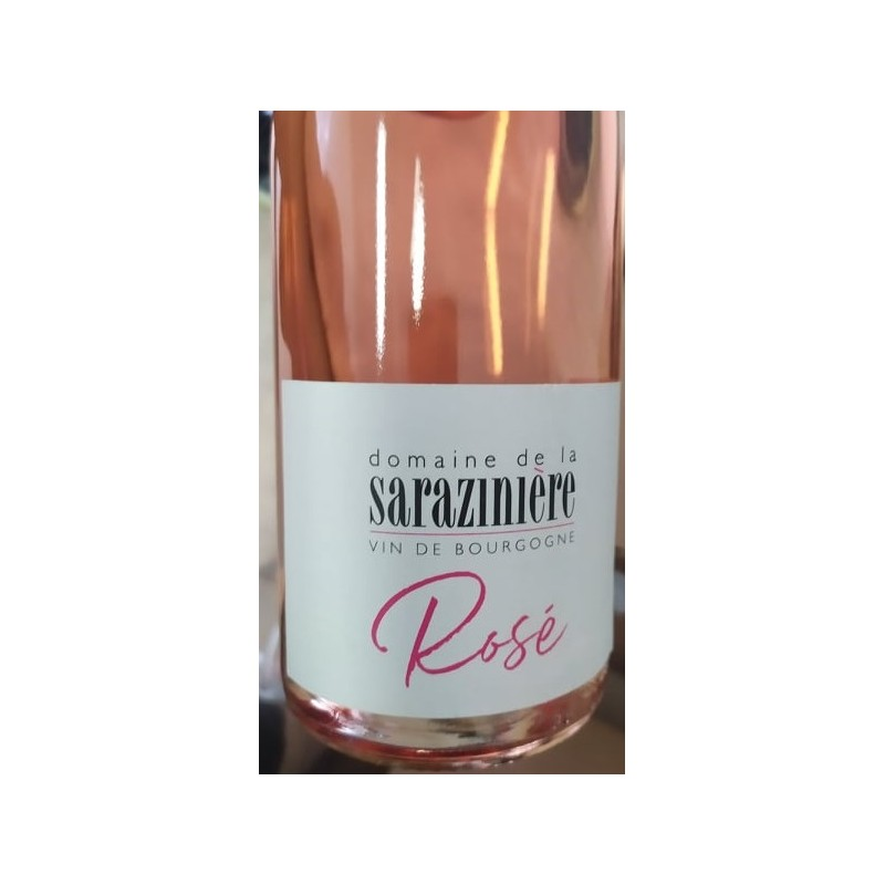 Rožinis Burgundijos vynas  domaine de la sarazinière  ROSE