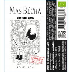 Raudonasis Mas Bécha vynas BARRIQUE 2018