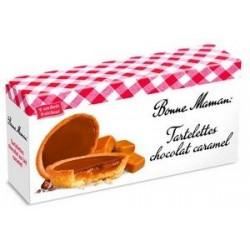 Tartaletės Bonne Maman su šokoladu ir karamele