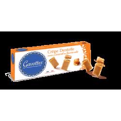 Gavottes sausainiai Crêpes Dentelle su sūdyto sviesto karamele