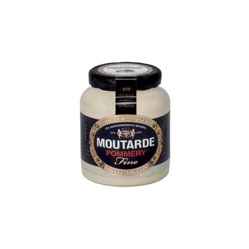 Garstyčios Pommery su juodaisiais trumais, 100 g