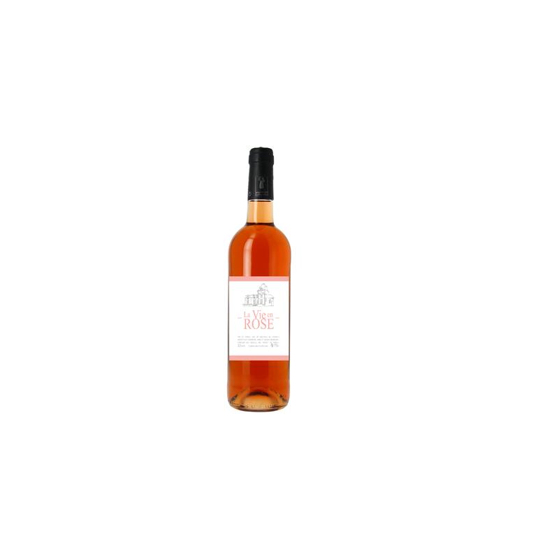 Rožinis domaine Chateau de Souché vynas  La vie en rose (11 %, 0,75 l)