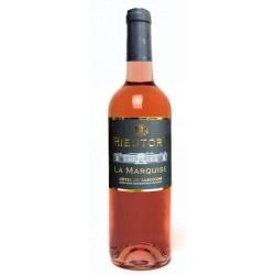 Rieutort rožinis vynas  Rose 2019  La Marquise (11,5 % alk. tūrio, 0,75 l)