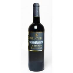 Rieutort raudonasis vynas  Rouge 2018  Le Baron (12,5 % alk. tūrio,  0,75 l)