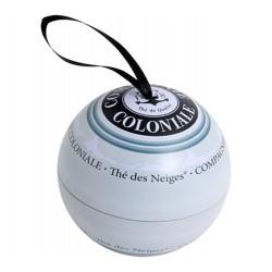 Sniego arbata Thé de neiges kalėdiniame eglutės žaisle