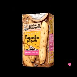 Aperityvinė sūri lazdelė Baguette guinguette su saulėgrąžų branduoliais (100 g)