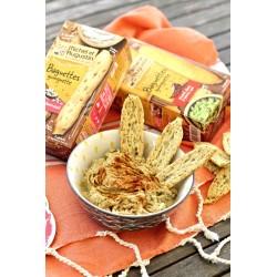 Aperityvinė lazdelė Baguette guinguette su grūdais ir sėklomis (100 g)