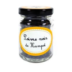 Juodasis KAMPOT pipiras (50 g)