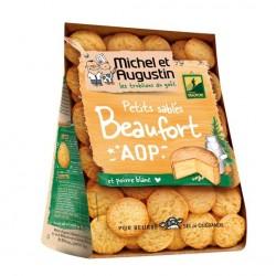 Smėlinės tešlos sūrūs sausainiai su Boforo sūriu ir pipirais