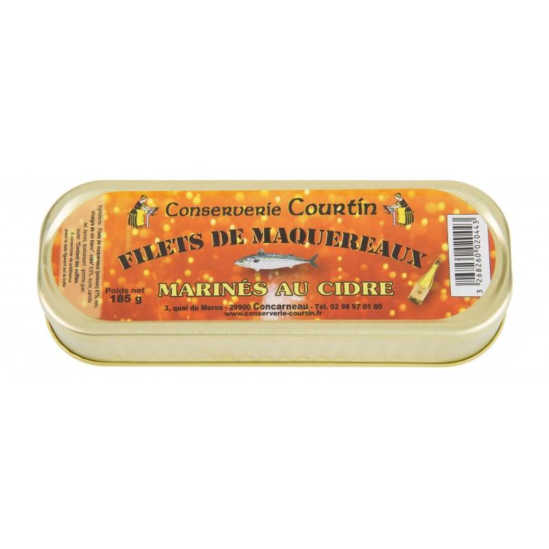Skumbrių filė sidro marinate