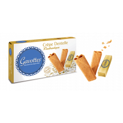 Autentiški Gavottes sausainiai Crêpes Dentelles