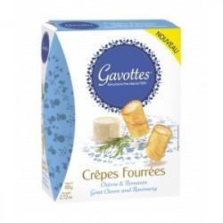 Aperityviniai sausainiai Gavottes su ožkos sūriu ir rozmarinu