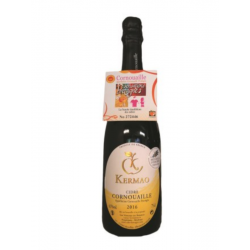 Pusiau sausas Kermao sidras AOP Cornouaille (4,5 %) (0,75 l)