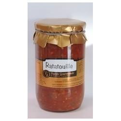 Prancūziškas daržovių troškinys          La Ratatouille
