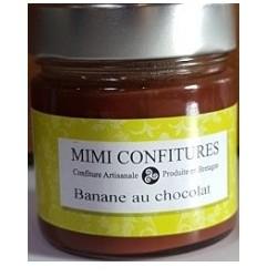 Bananų uogienė su šokoladu MIMI CONFITURE