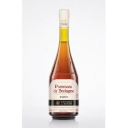 Obuolių sidro likerinis vynas Pommeau de Bretagne Tradition su saugoma kilmės vietos nuoroda (17 %)