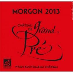 Raudonasis vynas MORGON Château de Grand Pré  (11,5 %) (0,75 l)