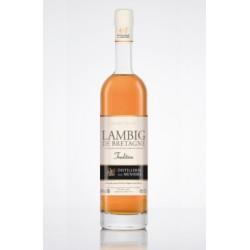 Bretanės obuolių sidro degtinė Lambig Tradition su saugoma kilmės vietos nuoroda (40 %) (0,7 l)