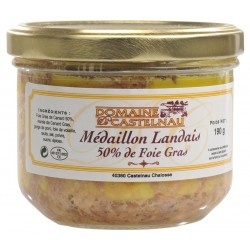 Landai krašto ančių kepenėlės Médaillon Foie gras 50%