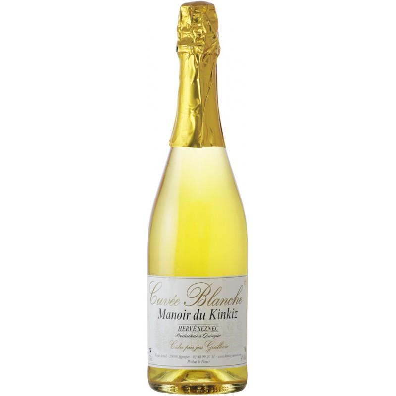 Manoir du Kinkiz sidras Cuvée Blanche (4 %, 0,75 l)