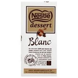 Baltasis šokoladas desertams Nestlé dessert blanc