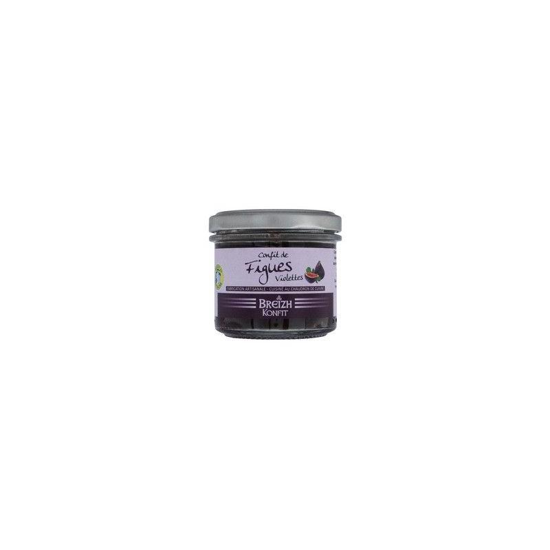 Violetinių figų konfi