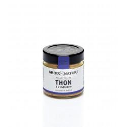 Rupusis baltojo tuno Germon paštetas pagal indišką receptą