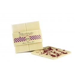 Baltasis šokoladas CHOCOLATISSIME su aviečių traškučiais