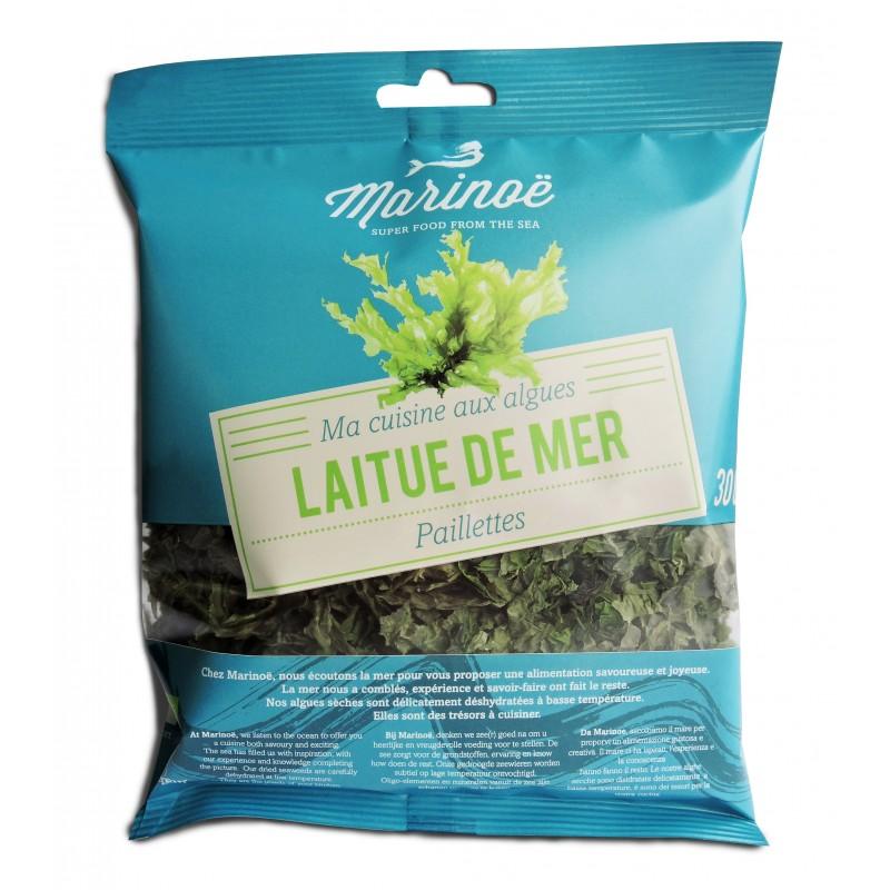 Jūros salotų Laitue de mer pabarstukai (30 g)