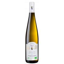 Ekologiškas baltasis sausas vynas  Les Alluvions  Riesling 2017