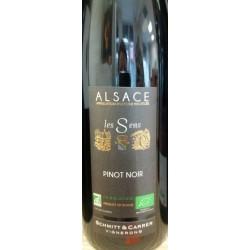 Ekologiškas raudonasis  sausas vynas  Pinot Noir