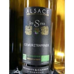 Baltasis ekologiškas vynas ALSACE GEWURZTRAMINER (13 %) (0,75 l)