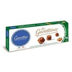 Crêpes Dentelle sausainiai Gavottines  su pienišku šokoladu ir lazdyno riešutais