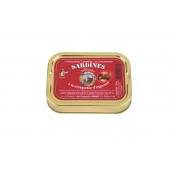 Sardinės su svogūnų džemu