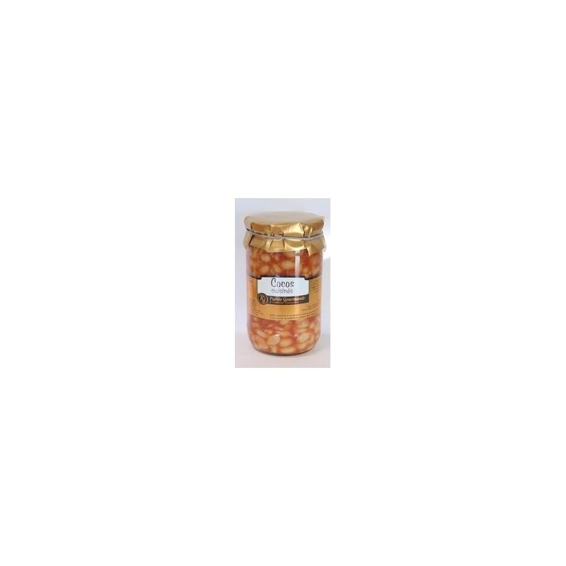 Cocos de Paimpol pupelių troškinys Parole Gourmande