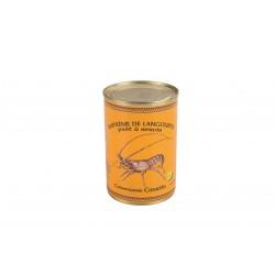 Tiršta langustų sriuba Suprême de langouste