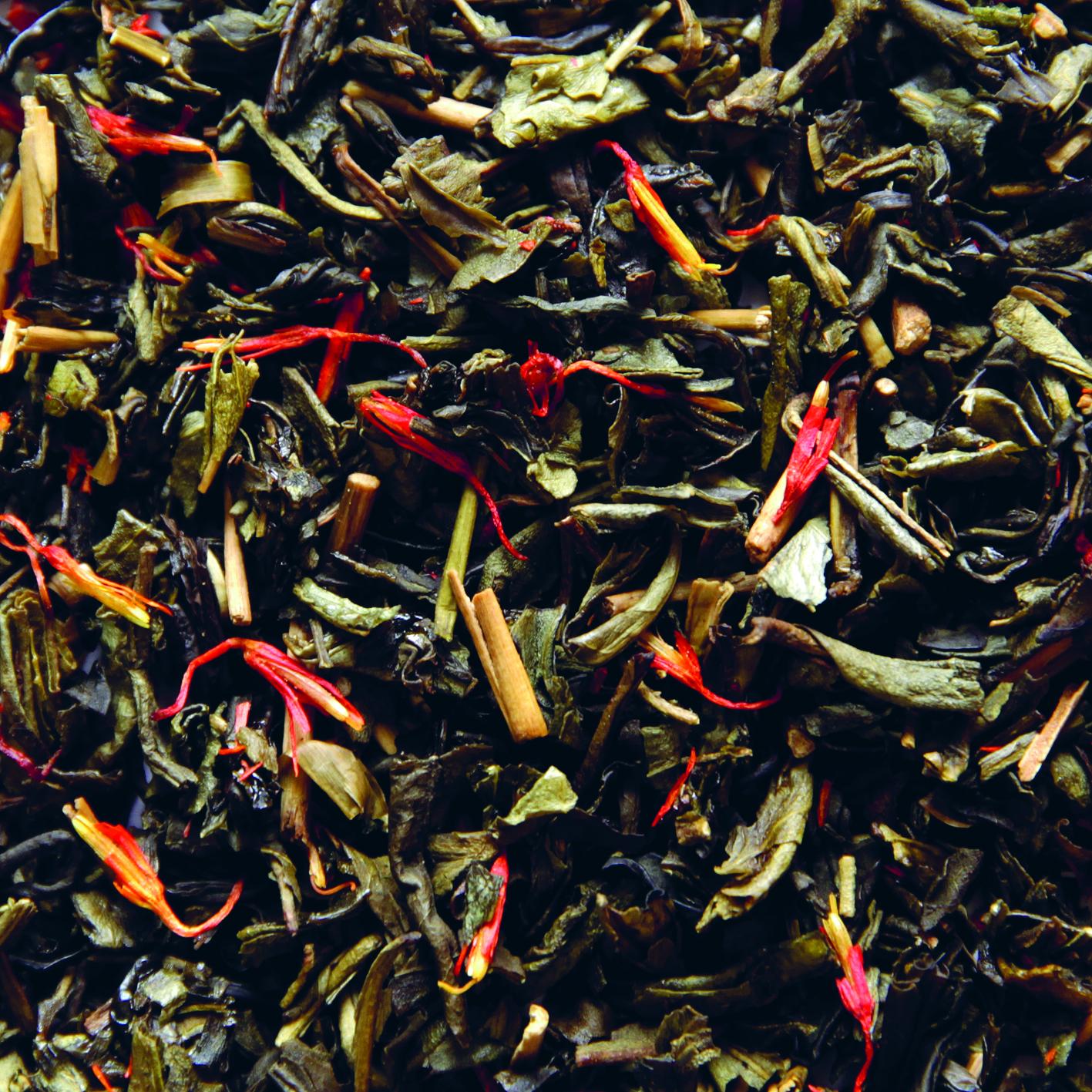 Compagnie coloniale arbata su ananasais