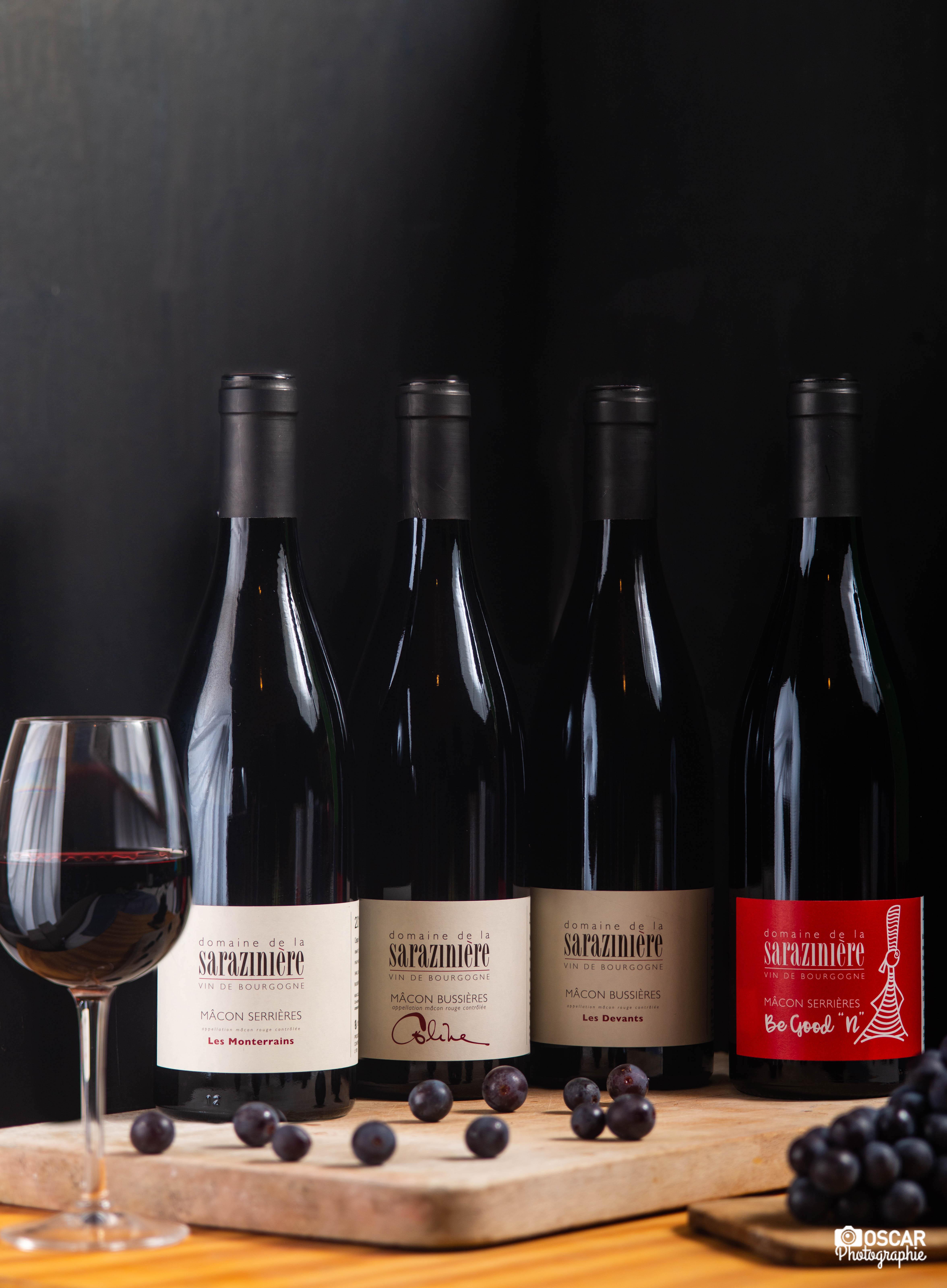 Domaine de la Saraziniere burgundiški vynai