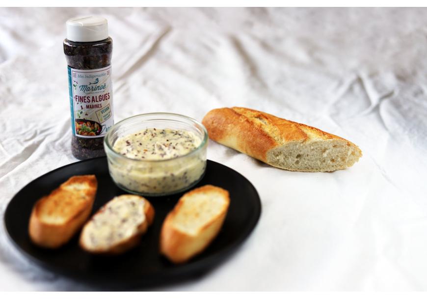 Bretoniškas sviestas su jūros dumbliais